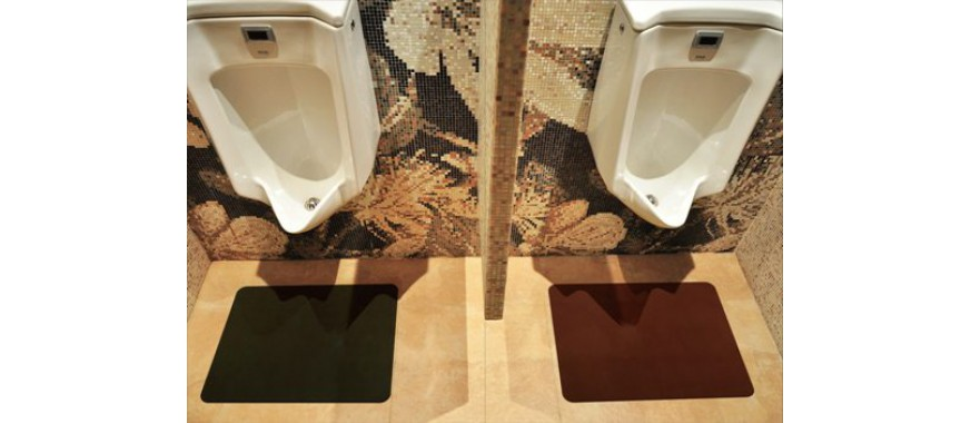 An economical solution to washroom safety and floor protection.